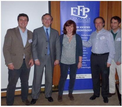 dr Juan Blanco participa comite ejecutivo de la EFP