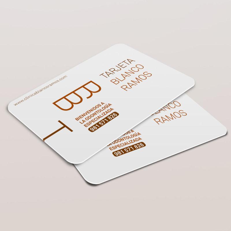 tarjeta blanco ramos citas