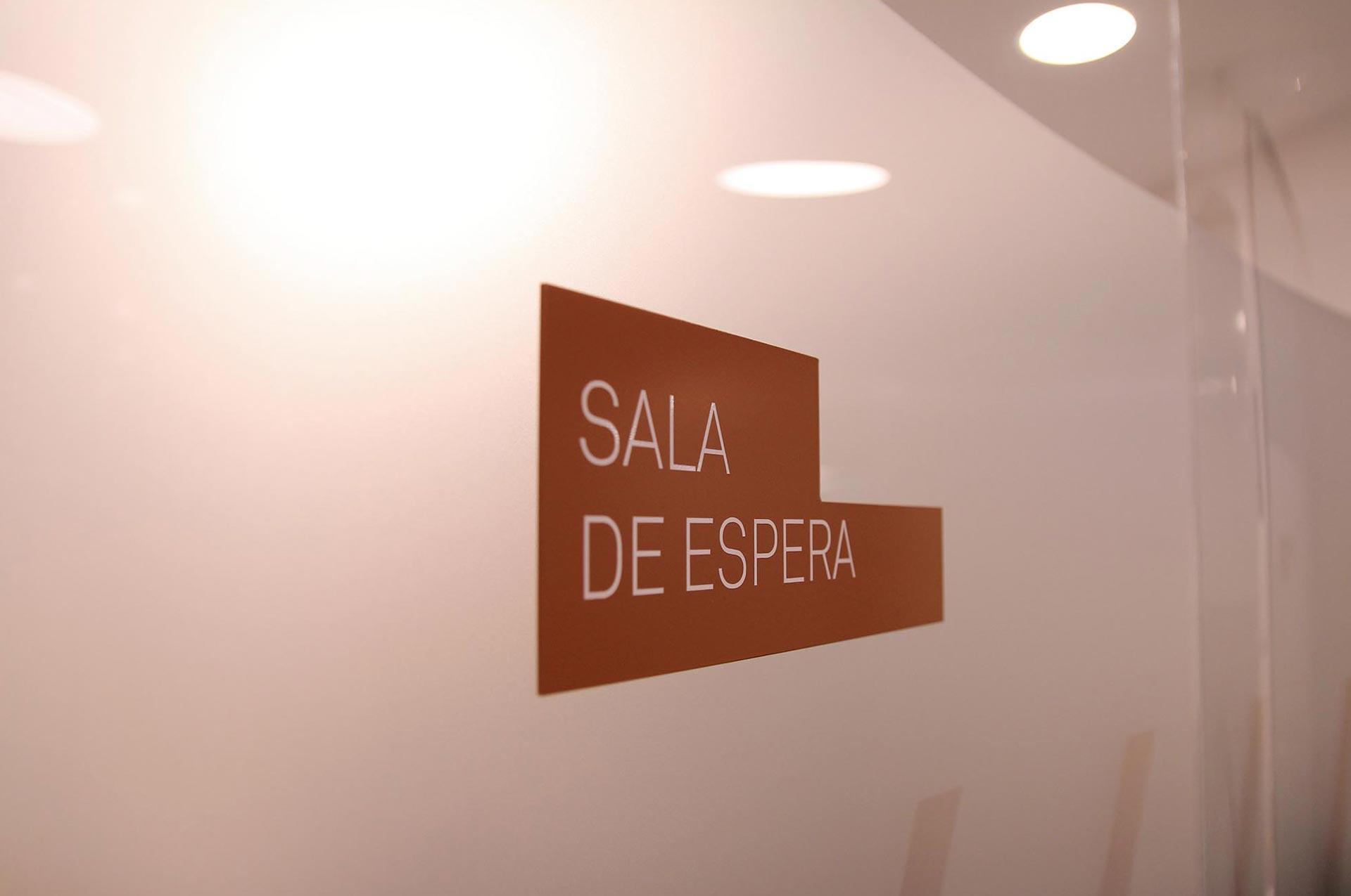 sala de espera clinica Blanco Ramos